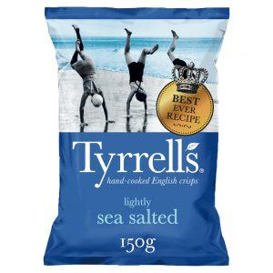 Πατατάκια Tyrrells Lightly Sea Salted 150g