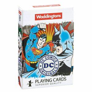 Waddingtons DC Comics Retro Playing Cards 13780
