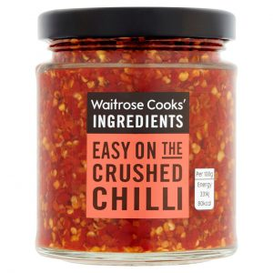 Κόκκινο Τσίλι σε Ξύδι Waitrose Cooks Ingridients Crushed Chilli 180g