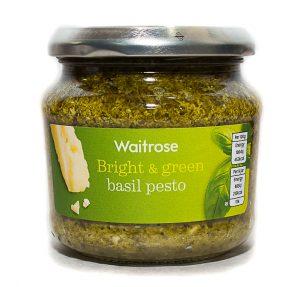 Σάλτσα Πέστο Βασιλικού Waitrose Bright and Green Basil Pesto 190g
