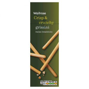 Κριτσίνια Waitrose Crisp and Crunchy Grissini 125g