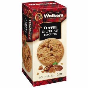 Μπισκότα Walkers Toffee and Pecan Biscuits 150g