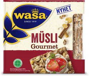 Φρυγανιές Wasa Musli Gourmet 220g