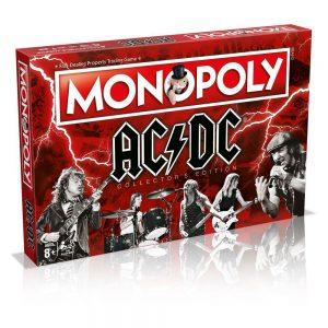 Επιτραπέζιο Monopoly ACDC Winning Moves (Στα Αγγλικά) 33152