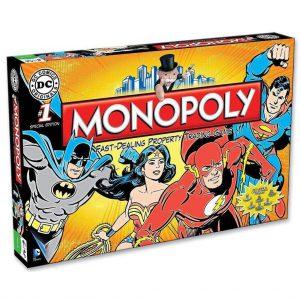 Επιτραπέζιο Monopoly DC Comics Retro Winning Moves (Στα Αγγλικά) 022545