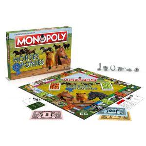 Επιτραπέζιο Monopoly Horses and Ponies Winning Moves (Στα Αγγλικά) 001656