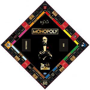 Επιτραπέζιο Monopoly The Godfather Winning Moves (Στα Αγγλικά)