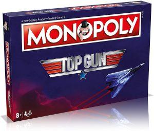 Επιτραπέζιο Monopoly Top Gun Winning Moves (Στα Αγγλικά)