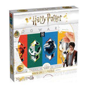 Παζλ Harry Potter House Crests Jigsaw Puzzle Winning Moves (500 Κομμάτια)