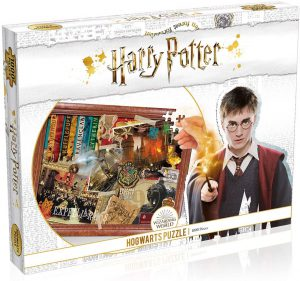Παζλ Harry Potter Hogwarts Puzzle Jigsaw Winning Moves (1000 Κομμάτια)