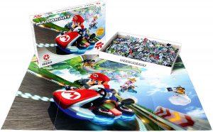 Παζλ Mario Kart Funracer Jigsaw Puzzle Winning Moves (1000 Κομμάτια)