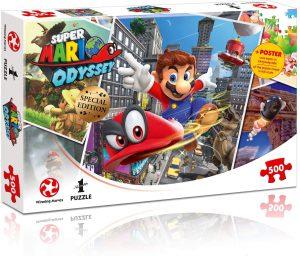 Παζλ Super Mario Odyssey Jigsaw Puzzle Winning Moves (500 Κομμάτια)