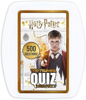 Επιτραπέζιο Top Trumps Harry Potter Quiz Game Winning Moves (Στα Αγγλικά)
