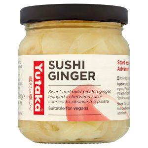 Τζίντζερ για Σούσι Yutaka Sushi Ginger 145g