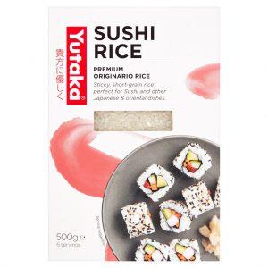 Ρύζι για Σούσι Yutaka Sushi Rice 500g