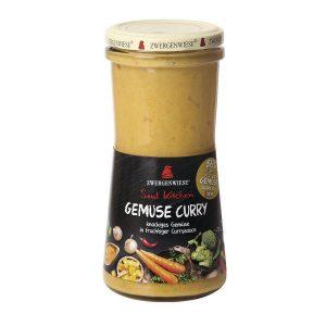 Σάλτσα Βιολογική Κάρυ Λαχανικών Zwergenwiese Soul Kitchen Vegetable Curry 420ml