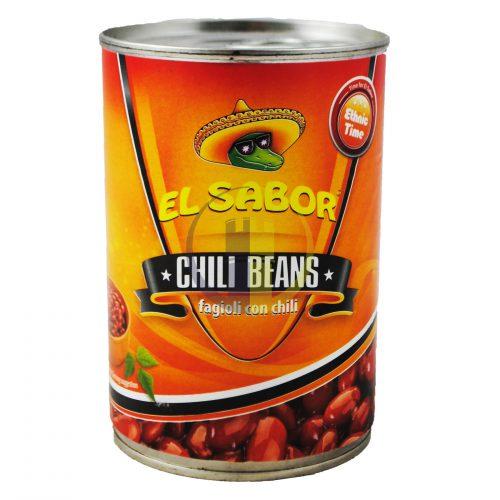 El Sabor Mexican Chilli Beans 410g