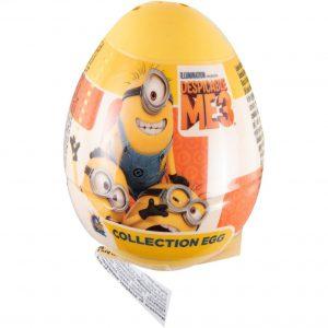 Μπισκότα Με Σταγόνες Σοκολάτας Despicable Me 3 Minions Collection Egg 5,5g