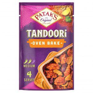 Σάλτσα Μαρινάδας Για Ψήσιμο Στο Φούρνο Χωρίς Γλουτένη Pataks Tandoori Oven Bake 120g