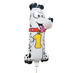 Μπαλόνι Σκύλος Νούμερο – Αριθμός 1