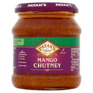 Σάλτσα Χωρίς Γλουτένη Pataks Mango Chutney Mild 340g