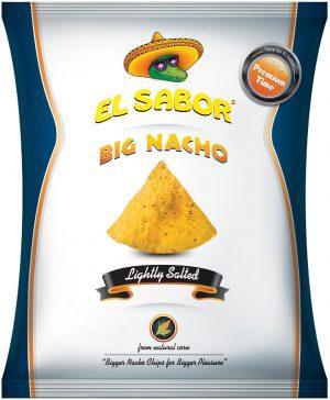 Τσιπς Νάτσος Μεγάλα Ελαφρώς Αλατισμένα El Sabor Big Nacho Lightly Salted 200g