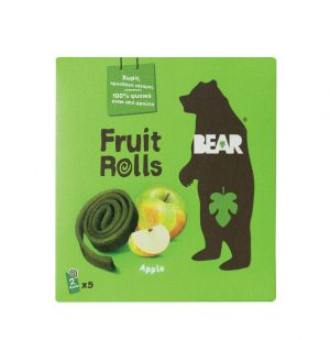 Bear yoyo Παιδικό Σνακ Φρούτου Vegan Apple Pure Fruit Yo Yo Bear 5x20g