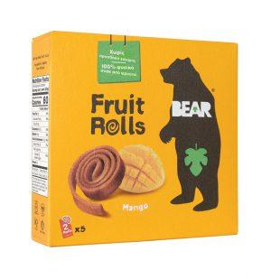 Bear yoyo Παιδικό Σνακ Φρούτου Vegan Mango Pure Fruit Yo Yo Bear 5x20g