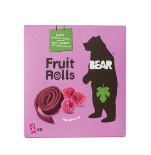 Bear yoyo Παιδικό Σνακ Φρούτου Vegan Raspberry Pure Fruit Yo Yo Bear 5x20g
