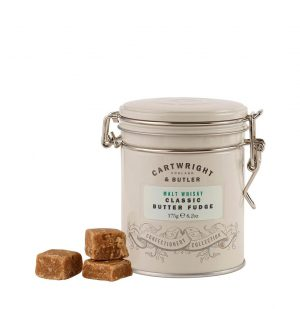 Καραμέλα Φατζ με Ουίσκι Cartwright and Butler Malt Whisky Classic Butter Fudge 175g