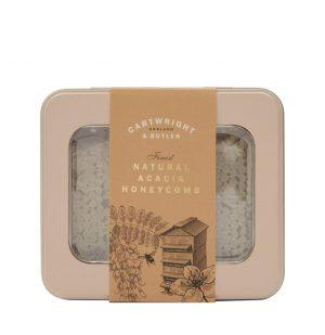 Κηρήθρα Ακακίας Cartwright and Butler Acacia Honeycomb in Window Tin 450g