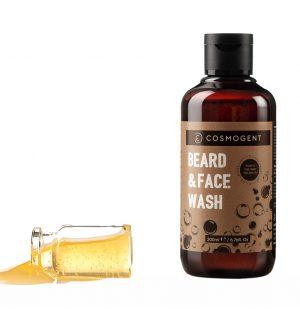 Σαμπουάν για Γένια και Πρόσωπο Cosmogent Beard and Face Wash 200ml