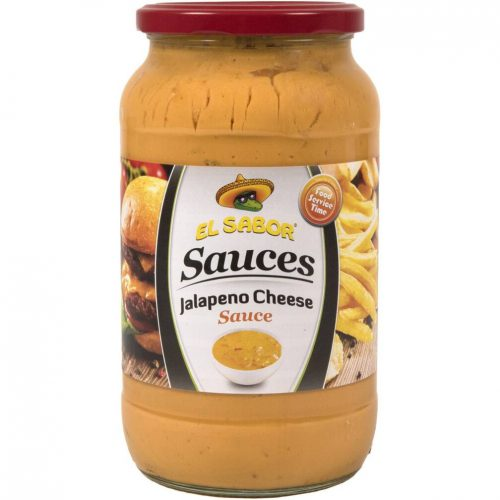 El Sabor Jalapeno Cheese Sauce 1000g-1