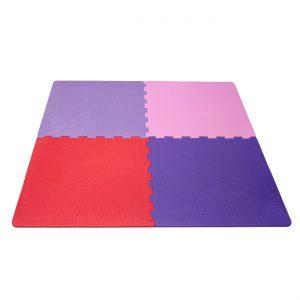 Παιδικό Δάπεδο Ασφαλείας Χρώματα 4τμχ Foam Puzzle Colours 4pcs 63x63cm