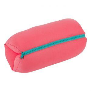 Μαξιλάρι Παραλίας Αναδιπλούμενο Με Φερμουάρ Ροζ Folded Beach Pillow With Zipper Pink 31x35cm