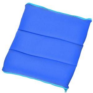 Μαξιλάρι Παραλίας Αναδιπλούμενο Με Φερμουάρ Ρουά Folded Beach Pillow With Zipper Royal Blue 36x36x9cm