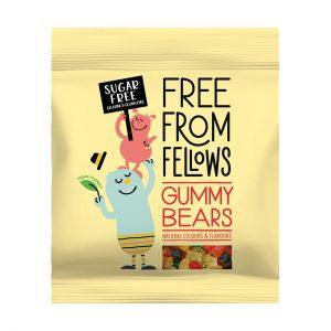 Ζελεδάκια Gluten Free Vegan Free From Fellows Gummy Bears 100g