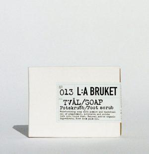 Σαπούνι Ποδιών Σκράμπ Μέντα LA Bruket 013 Exfoliating Bar Soap Foot Scrub Peppermint 120g