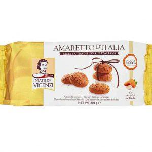 Μπισκότα Αμαρέτο Matilde Vicenzi Amaretto d Italia 200g