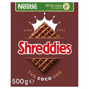 Δημητριακά Vegan Ολικής Άλεσης Nestle Coco Shreddies 500g