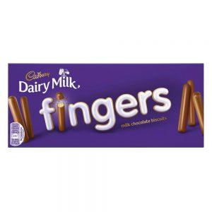 Cadbury Fingers Γκοφρετάκια Γάλακτος 114g