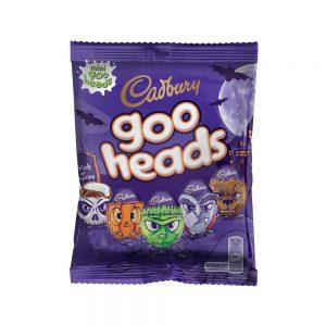 Halloween Cadbury Σοκολατένια Αυγά Κεφάλια Cadbury Goo Heads 89g