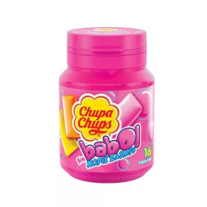 Τσιχλόφουσκα Με Γεύση Φρούτων Χωρίς Ζάχαρη Chupa Chups Big Babol Chewing Gum With Fruit Flavour Sugar Free 64g