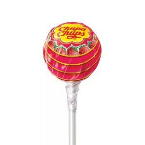 Γλειφιτζούρι Chupa Chups Strawberry Flavour 12g