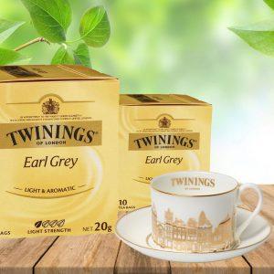 Τσάι Μαύρο Twinings Earl Grey Light 10 Tea Bags 10 Φακελάκια