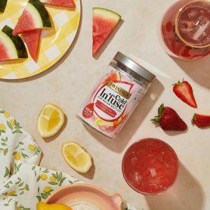 Κρύο Αφέψημα Twinings Cold Infuse Watermelon Strawberry Mint For Water Bottles 12 Infusers