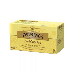 Τσάι Μαύρο Twinings Earl Grey Light 25 Tea Bags 25 Φακελάκια