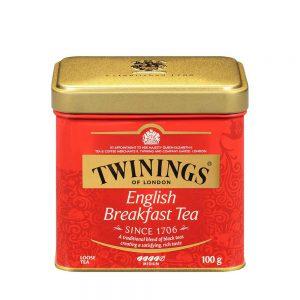 Τσάι Μαύρο Twinings English Breakfast Loose Tea Medium 100g