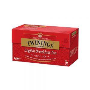 Τσάι Μαύρο Twinings English Breakfast Medium 25 Tea Bags 25 Φακελάκια
