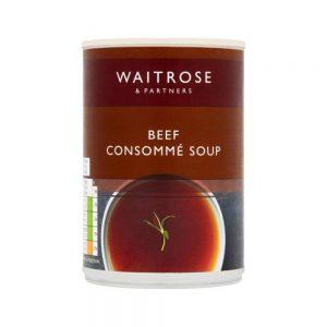 Σούπα Κονσομέ Waitrose Beef Consomme Soup 400g